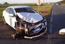 Photo of Un herido y una mujer muerta tras un choque en el cruce de la ruta 14 y la A012