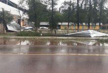 Photo of Video: temporal de lluvia y viento en Santiago del Estero