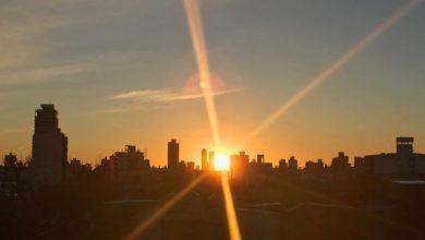 Photo of Viernes soleado y caluroso en la ciudad