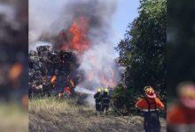 Photo of Villa Constitución: se incendió una planta de ACINDAR