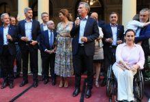 Photo of Macri se despidió de la Rosada con un brindis
