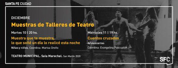 Photo of Teatro Municipal: muestra de los talleres de niñas, niños y adolescentes
