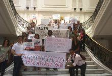 Photo of Precarizados realizan concentración en Casa de Gobierno