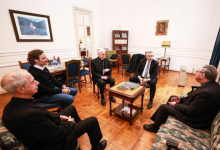 Photo of Primer encuentro de Alberto Fernández con la cúpula de la Iglesia