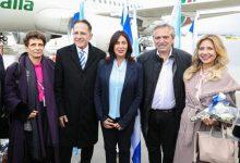 Photo of El presidente Alberto Fernández llegó a Israel