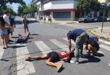 Photo of Accidente en el sur de la ciudad de Santa Fe: dos motochorros heridos