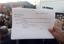 Photo of El Papa le envió una carta a los padres de Fernando Baez Sosa