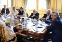 Photo of El presidente Alberto Fernández recibió a representantes de organismos de Derechos Humanos