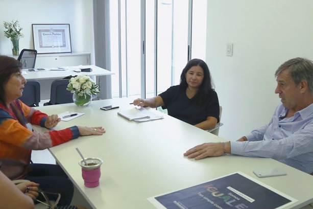 Photo of El intendente Jatón se reunió con la secretaria de Género de la provincia