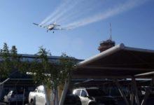 Photo of Una ciudad de Argentina comenzó con vuelos de desinfección