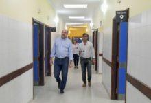 Photo of Perotti recorrió las obras del ex Hospital Iturraspe