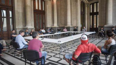 Photo of Reunión entre el intendente y organizaciones sociales por la situación de coronavirus