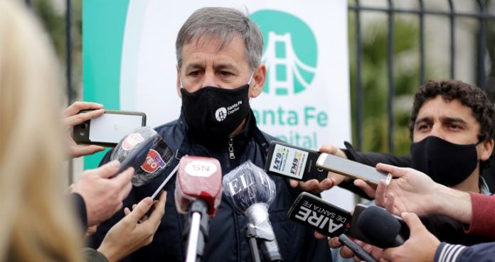 """Photo of Jatón anticipó que la ciudad de Santa Fe confirmaría """"más de 10 casos"""" este viernes"""