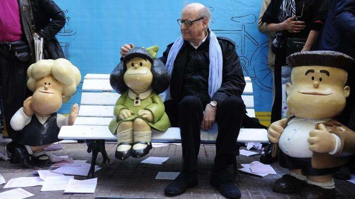 Photo of Falleció Quino, el creador de Mafalda