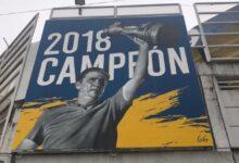 Photo of Se terminó el mural en el Gigante de Arroyito en homenaje a Edgardo Bauza