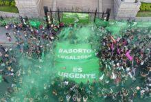 Photo of Movilización frente al Congreso por la legalización del aborto