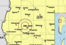 Photo of Se registró un nuevo sismo en la provincia de San Juan