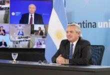 Photo of Fernández y Putin anunciaron el inicio de la producción de la Sputnik V en Argentina
