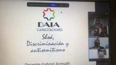 Photo of Capacitación a jefes policiales en conjunto con la DAIA